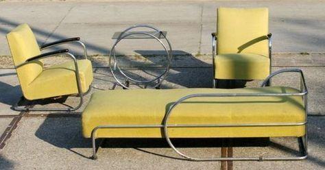 bauhaus marktplaats Museaal! Bauhaus sofa, fauteuils en tafel jaren ...