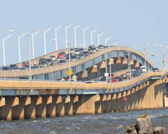 The Clogged Seaside Bridges - Toms River, NJ Patch