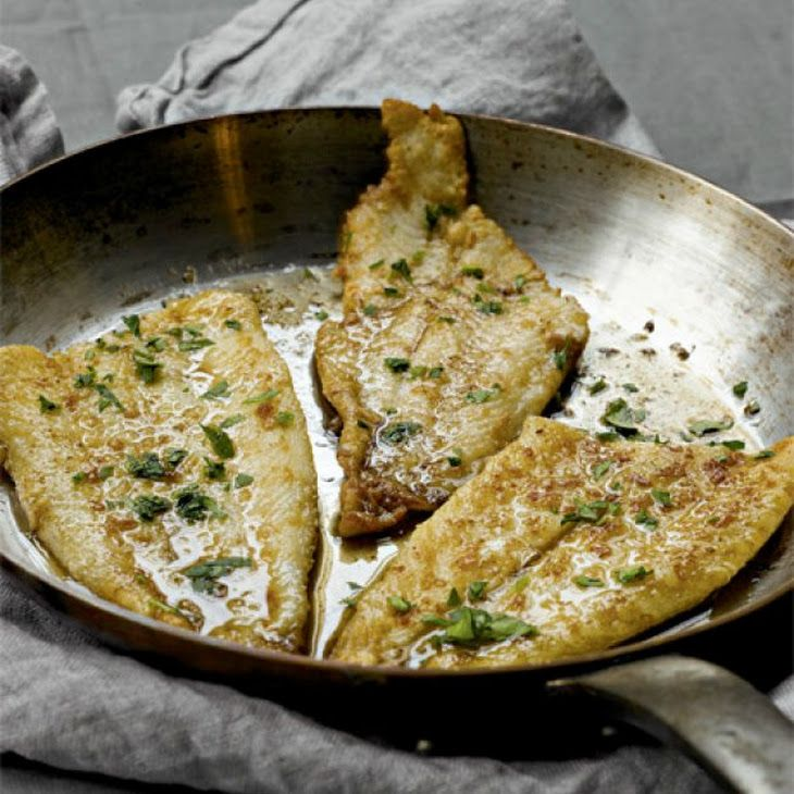 Katie Lee's Sole Meunière Recipe | Yummy for my tummy | Pinterest
