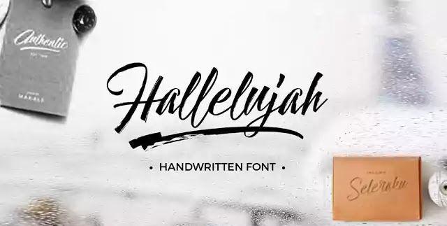 خط التوقيعات الانجليزي Font Hallelujah المميز لكتابة العناوين مصممي الدعاية والإعلان Home Decor Decals English Fonts Decor