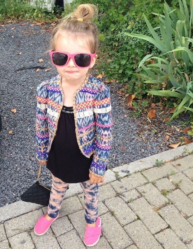 #little #fashionista #hippekids
