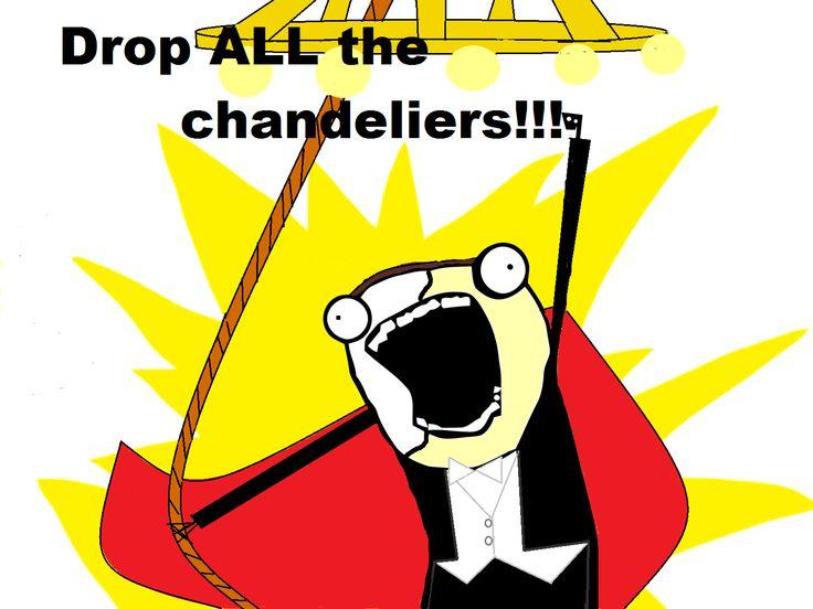 A Phantom of the Opera meme I made using a blank 'All The Things' meme.