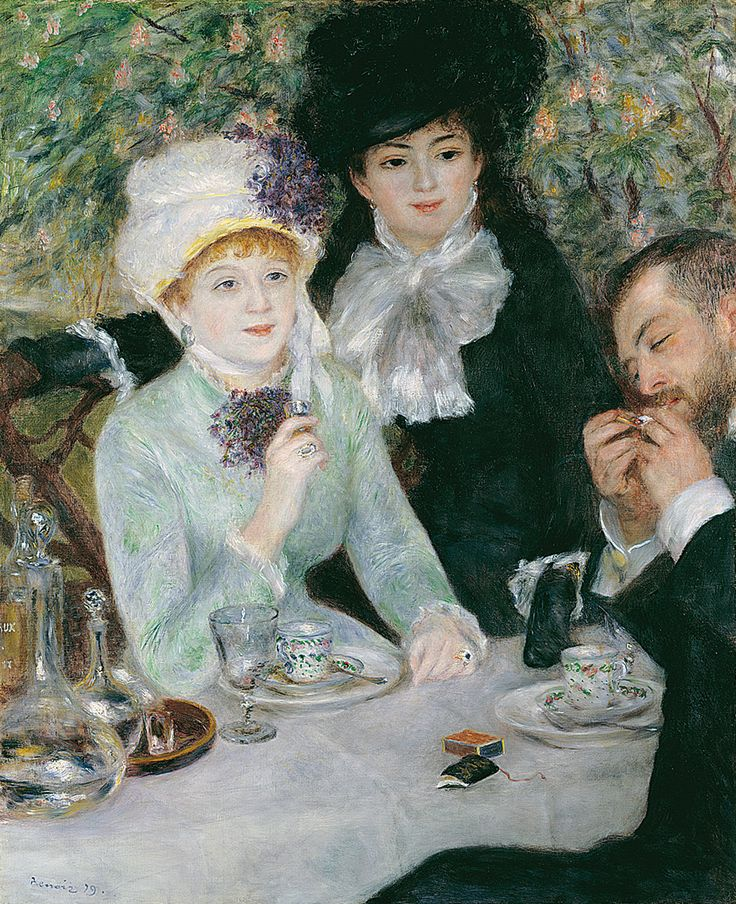 """""""Nach dem Mittagessen"""" von Auguste Renoir - 1879 (Städel Museum Frankfurt am Main 01.06.2015)"""