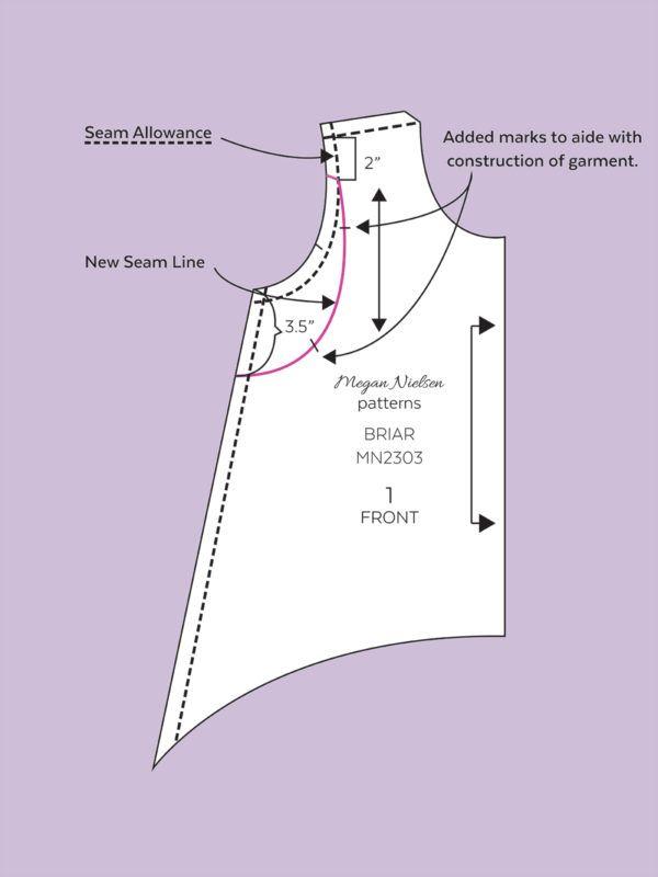megan nielsen design diary: Ruffled Sleeve Briar Tee Tutorial