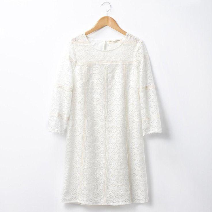 Robe courte évasée dessinée par sézane Sezane | La Redoute