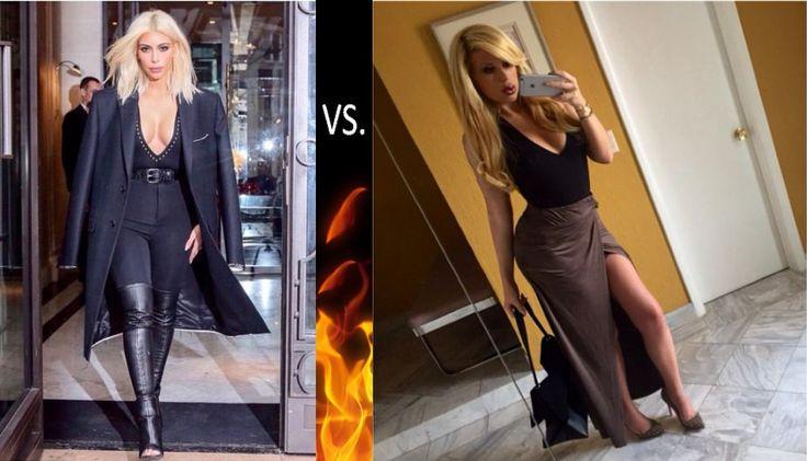 Laura Bozzo: Su hija Alejandra de la Fuente imita look de Kim Kardashian