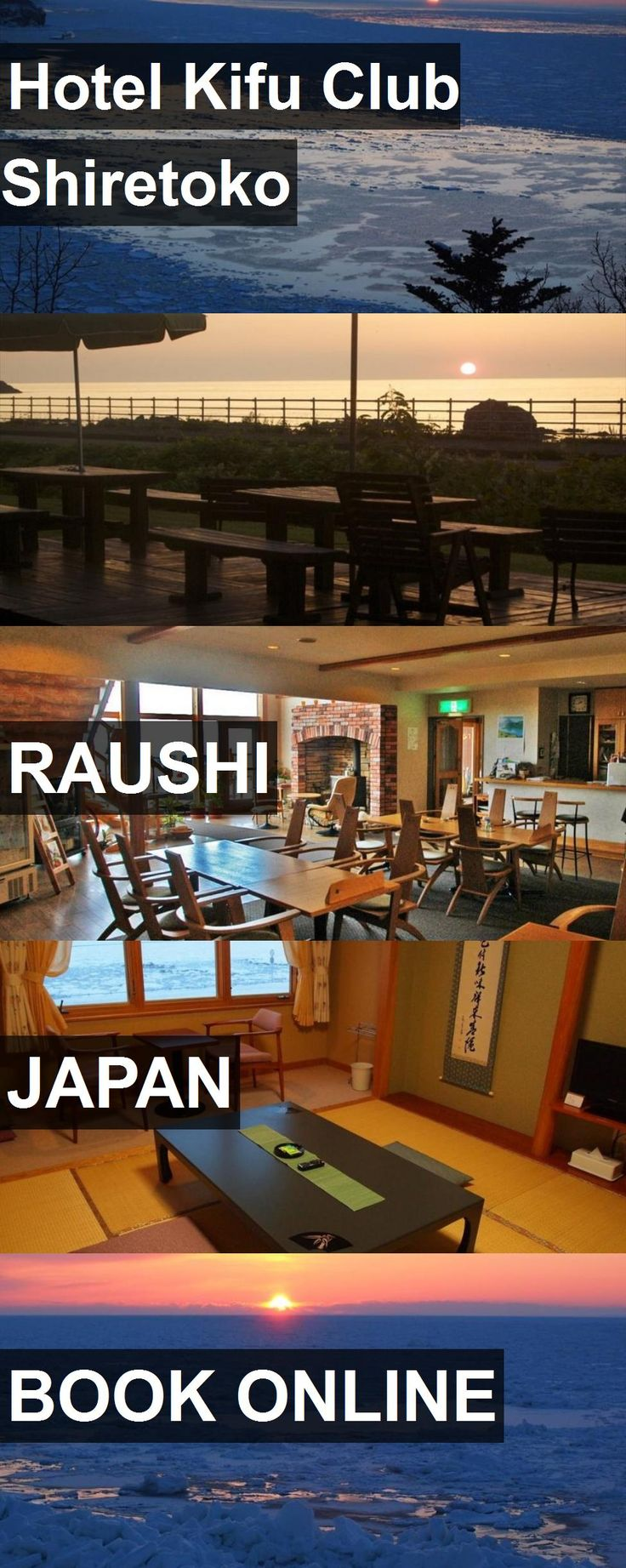 Hotel Kifu Club Shiretoko in Raushi, Japan. For more information, photos, reviews and best prices please follow the link. #Japan #Raushi #travel #vacation #hotel