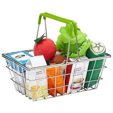 Buy John Lewis Fabric Food In a Basket Online at johnlewis.com