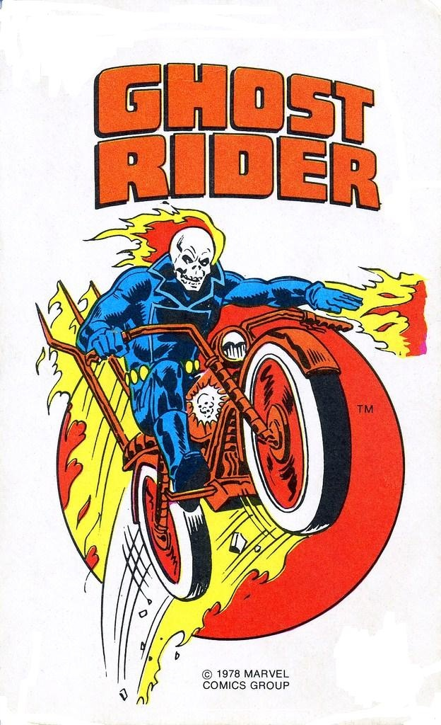 Heroes of my youth: Vintage Ghost Rider