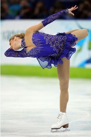 Julia Sebestyen of Hungary, Figure Skating