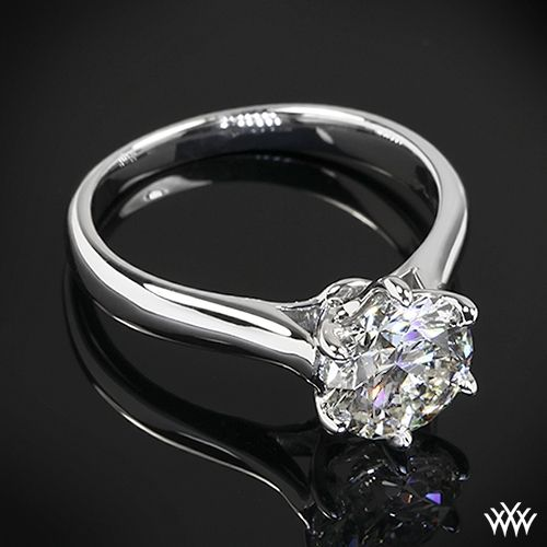 Royal Crown Classic Solitaire Engagement Ring by Vatche | 29002