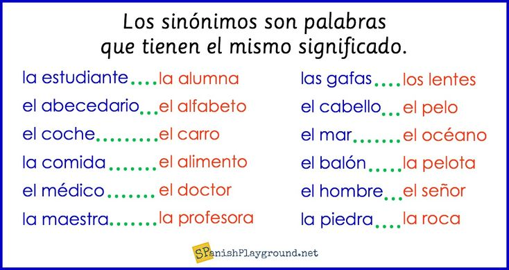 Spanish synonyms expand vocabulary and increase reading and listening comprehension for elementary students. These Spanish synonym activities use everyday words students will encounter in conversation, reading, and songs. Matching cards and printable activities for common nouns and adjectives.