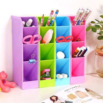 Candy Color Desktop Storage Box Kitchen Drawer Multifunctional Storage Basket Home Sundry Organizer