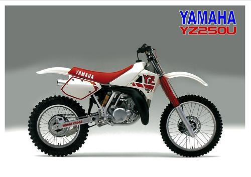 1988 Yamaha YZ250, the last year before the fork change.