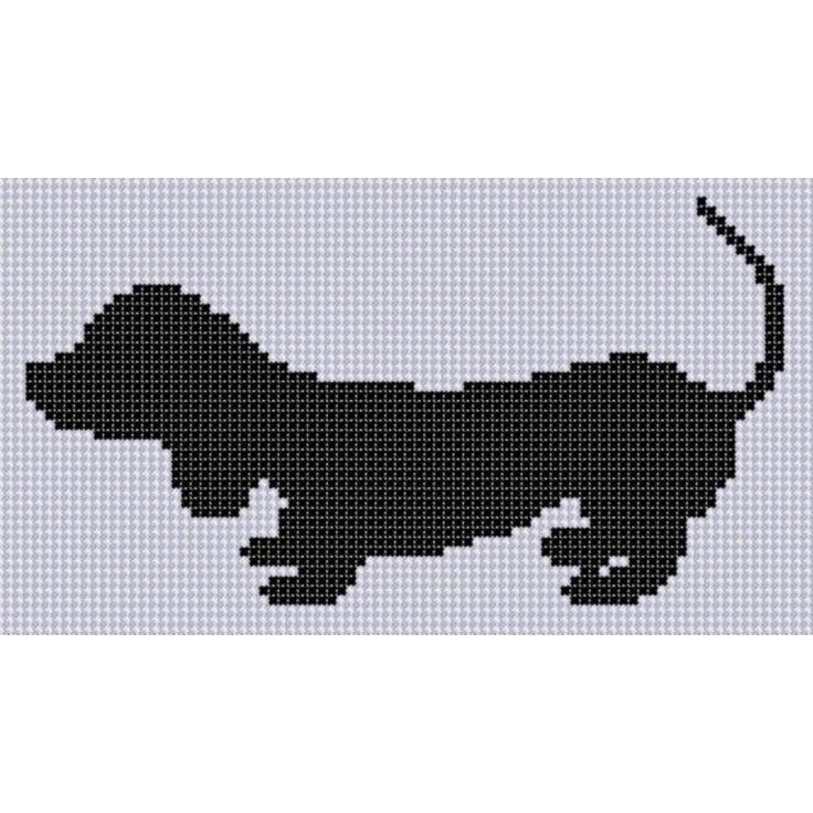 Dog 2 Cross Stitch Pattern pattern on Craftsy.com