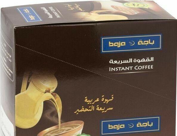 Arabic Coffee 10 Large Sticks Baja Instant Arabic Coffee Normal Saffron Dallah Unbranded Arabic Coffee Coffee Coffee Mix