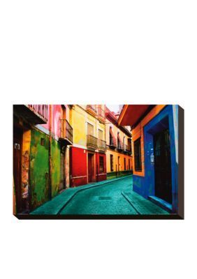 Art.com  Granada Spain Stretched Canvas Print  Online Only