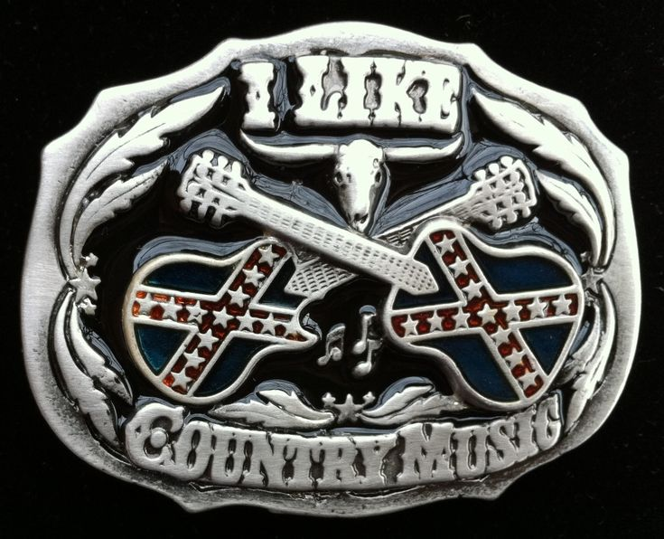 #buffalogirloutfitters approved COOL GIFT COUNTRY MUSIC REBEL FLAG WESTERN BELT BUCKLES