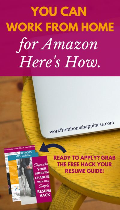You Can Work From Home For Amazon. Here's How.