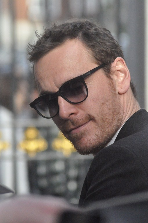 Shades and fassbender