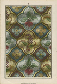 .floral allover pattern