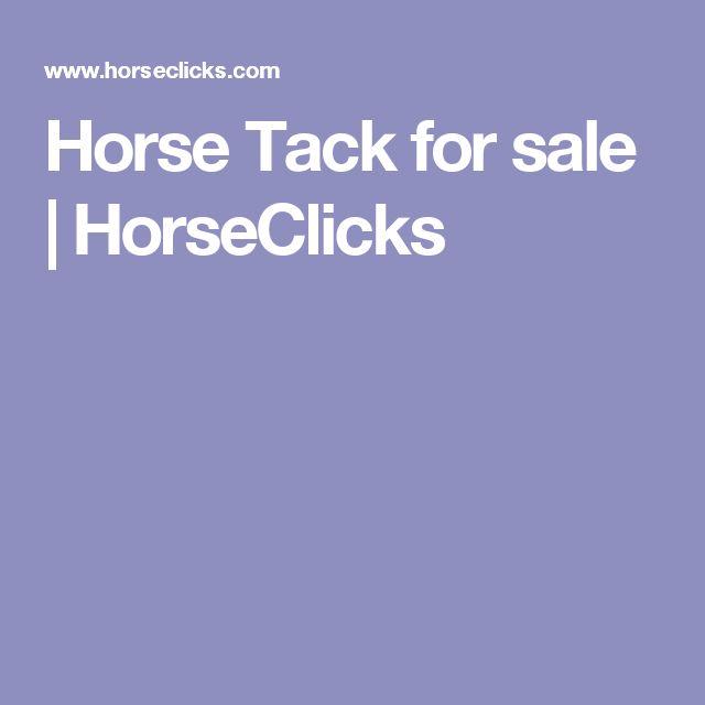 Horse Tack for sale   HorseClicks