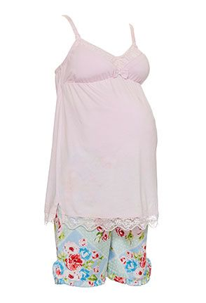 Image for Maternity Diamond Quilt Shortie Pj Set from Peter Alexander $39