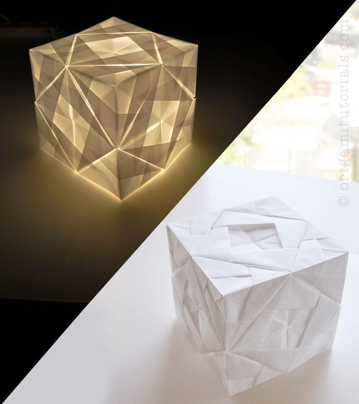 51 best paper lanterns images on pinterest paper for Paper lantern tutorial