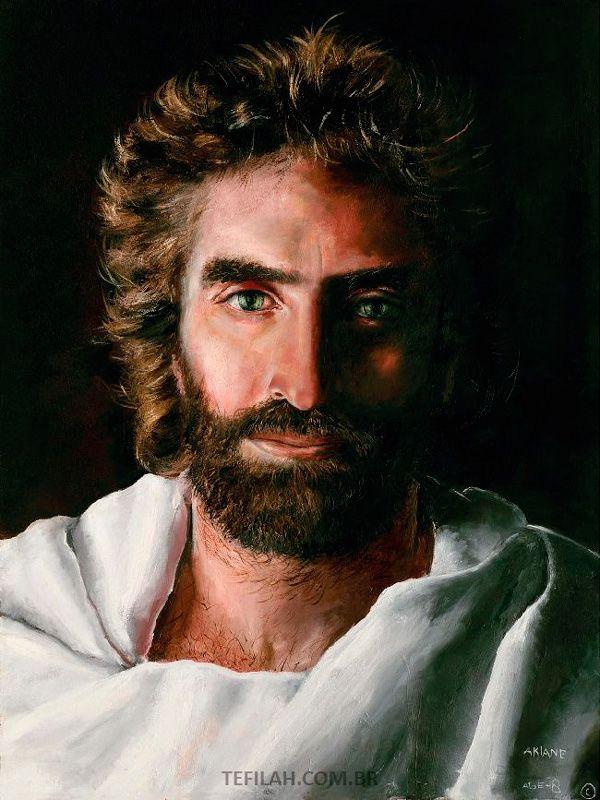 Pintura de Jesus por akiane kramarik