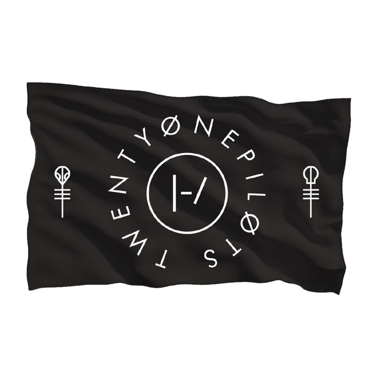 Clique Circle Flag | Official Twenty One Pilots Store