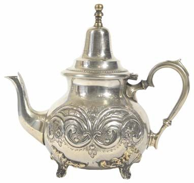 vintage tea pot from morocco...  another beauty