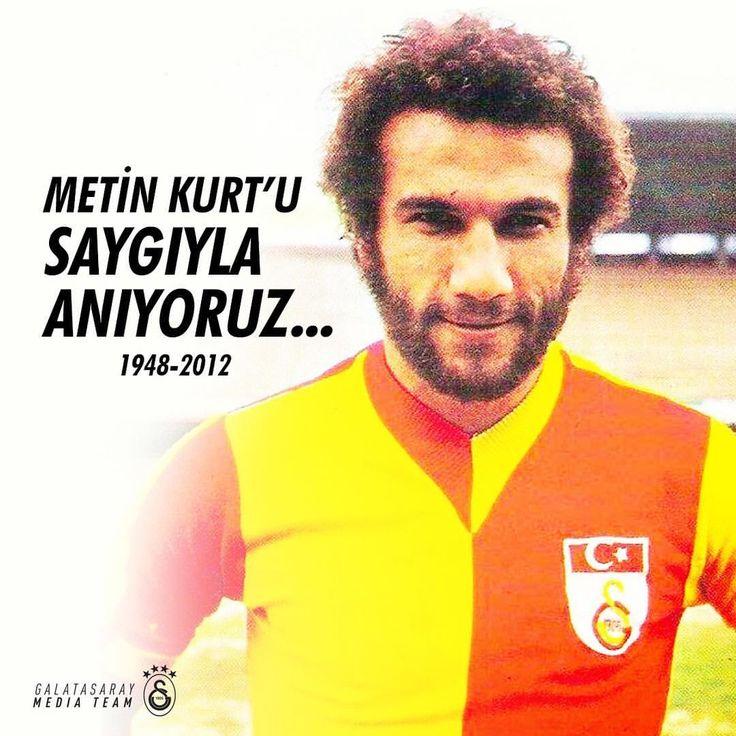 """Galatasaray (@galatasaray): """"Ölümünün 5. yılında eski futbolcumuz Metin Kurt'u saygıyla ve rahmetle anıyoruz."""""""