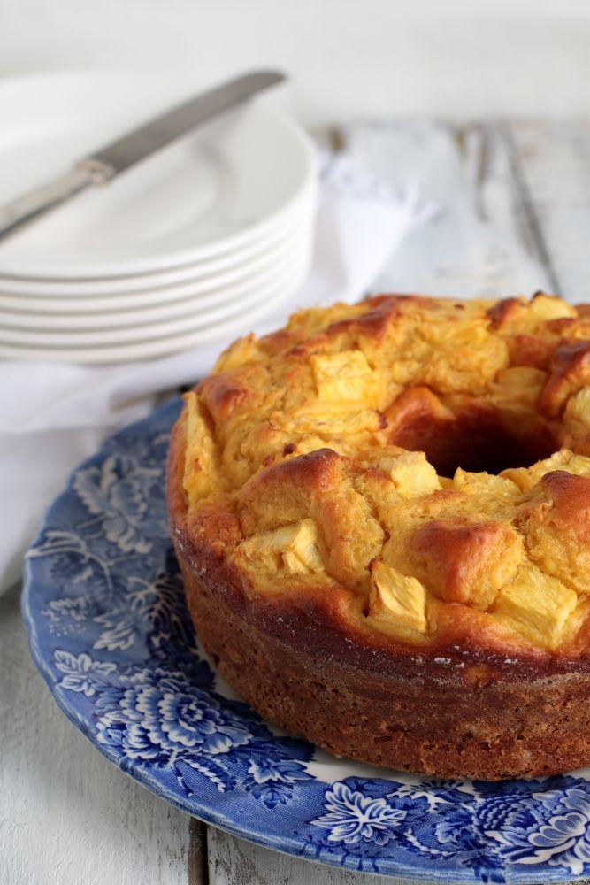 torta all'ananas e ricotta – Viaggiare come mangiare