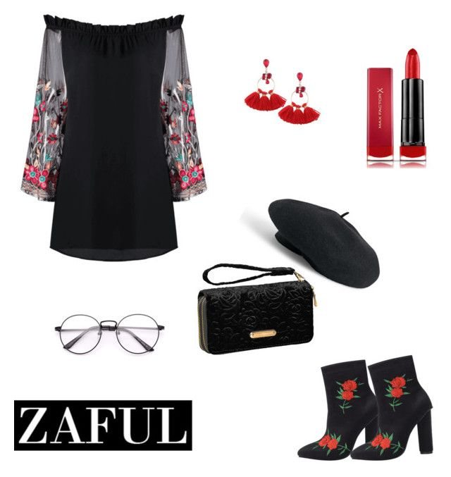 """""""Zaful"""" by dorothysmile ❤ liked on Polyvore featuring Venus, Avenue and Max Factor"""