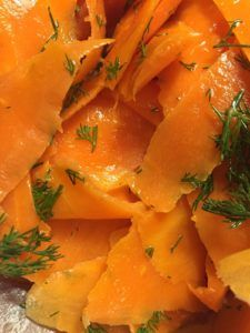 Carrot 'Smoked Salmon' Lox by notetoiris #vegan