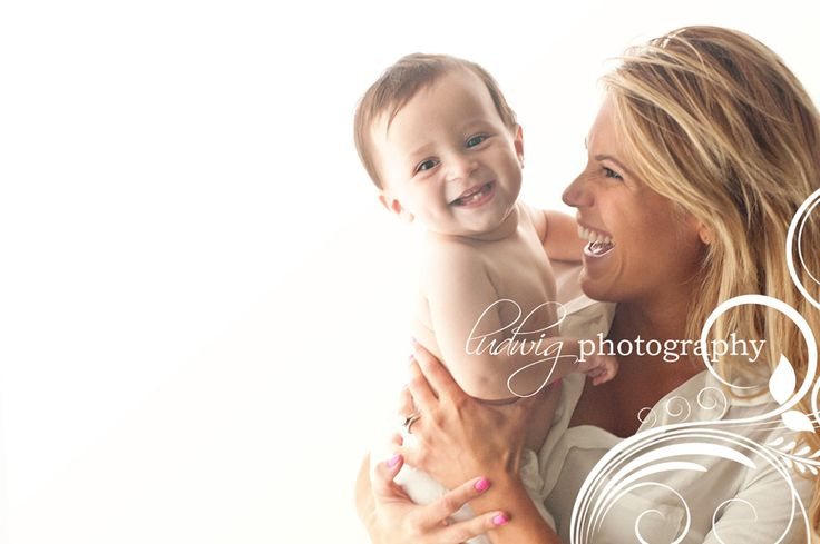9 month old baby portrait
