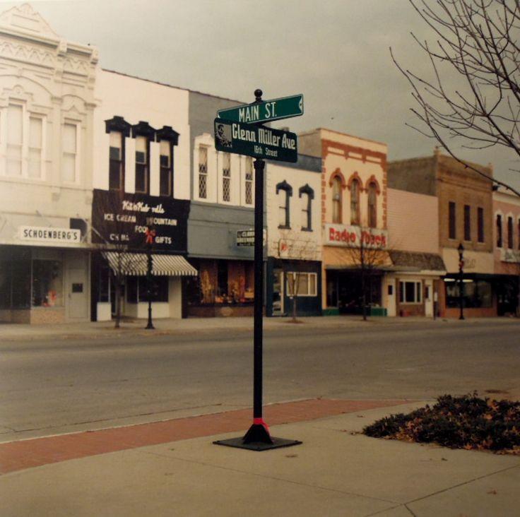 Clarinda Iowa downtown area