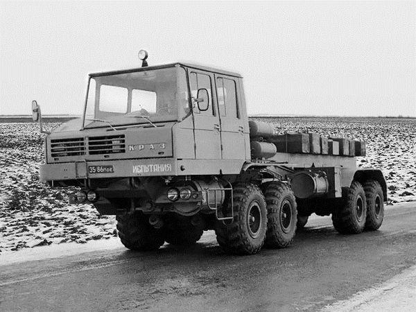 Automobily KrAZ | V/O Avtoexport SSSR Moskva