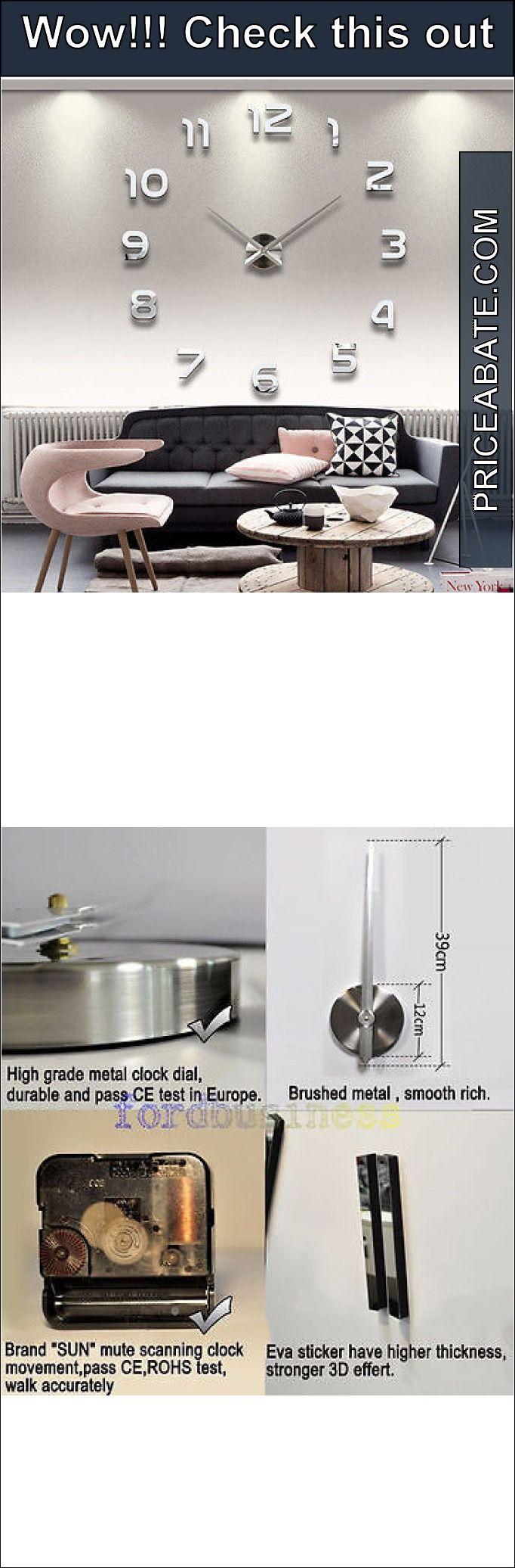 17 best Modern clocks images on Pinterest Diy wall clocks