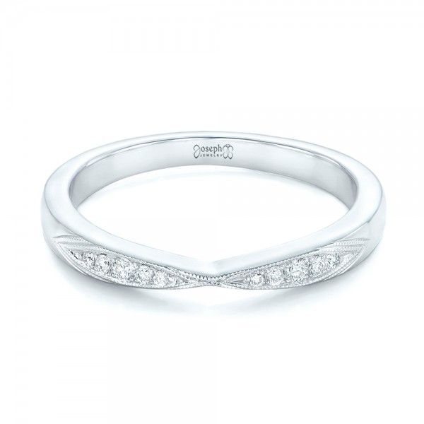 band diamond p wedding bands womans ladies