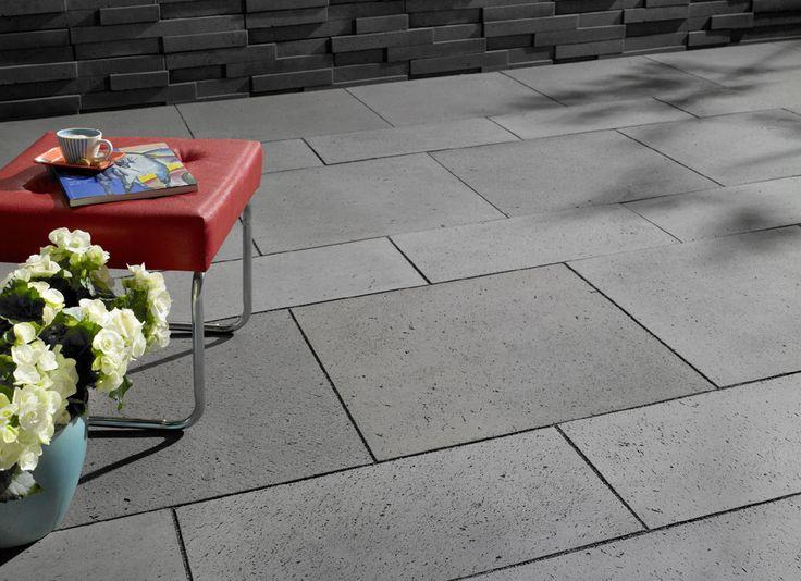 81 best terrassenplatten images on pinterest garden. Black Bedroom Furniture Sets. Home Design Ideas