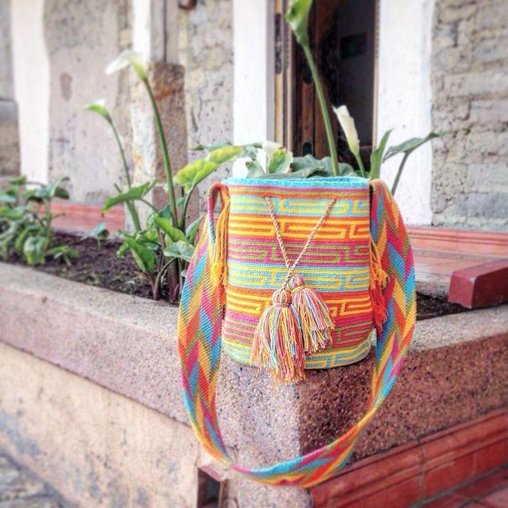 www.wayaarte.com  Handmade by our artisans designed by WAYAA :)  #handmadelovers #onepiece #bohobag #hobobag #boho #bohostyle #hobo
