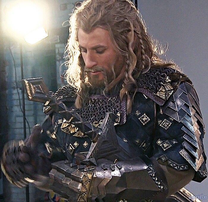 Fili in full Erebor armor... My heart just skipped a beat