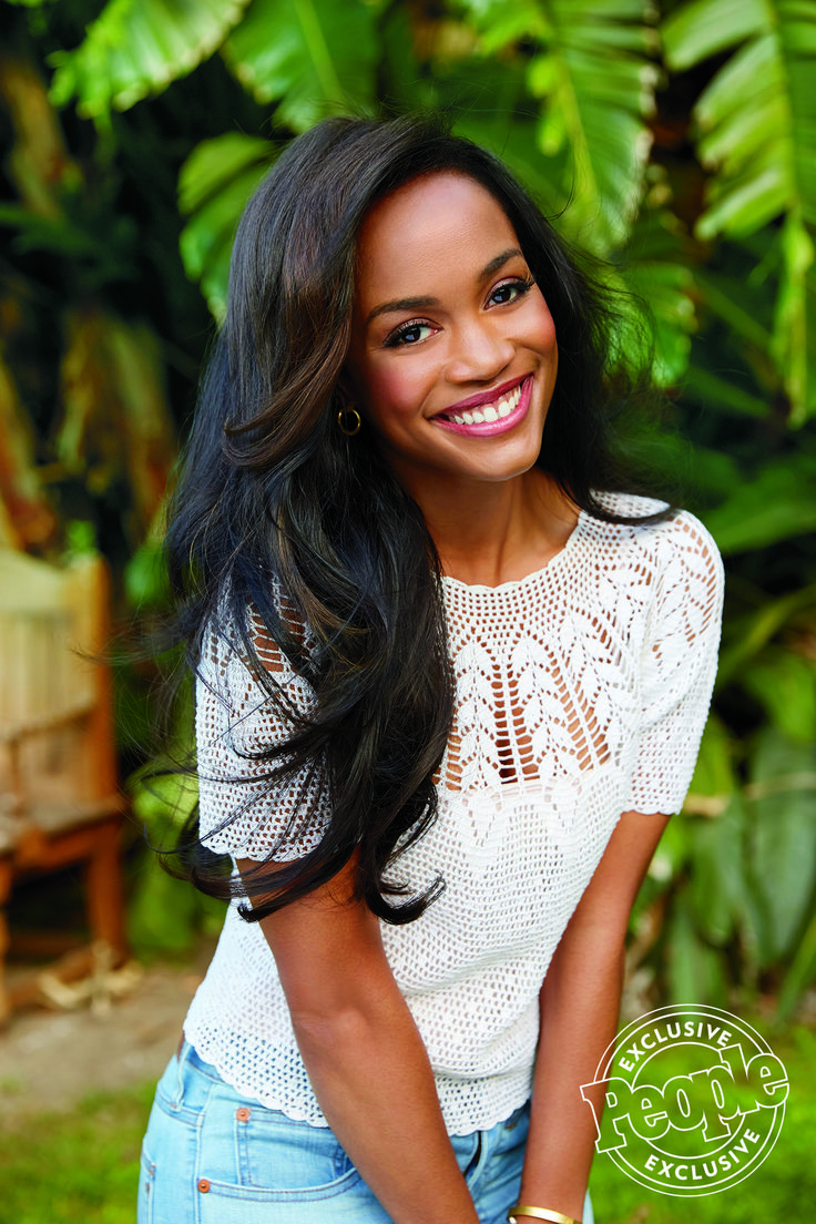 Wardrobe styling by Simona Sabo, simonasabo.com Photo by Ari Michelson  Rachel Lindsay the Bachelorette 2017 for People magazine, People.com  Image result for rachel lindsay bachelorette people magazine ari michelson vintage crochet sweater