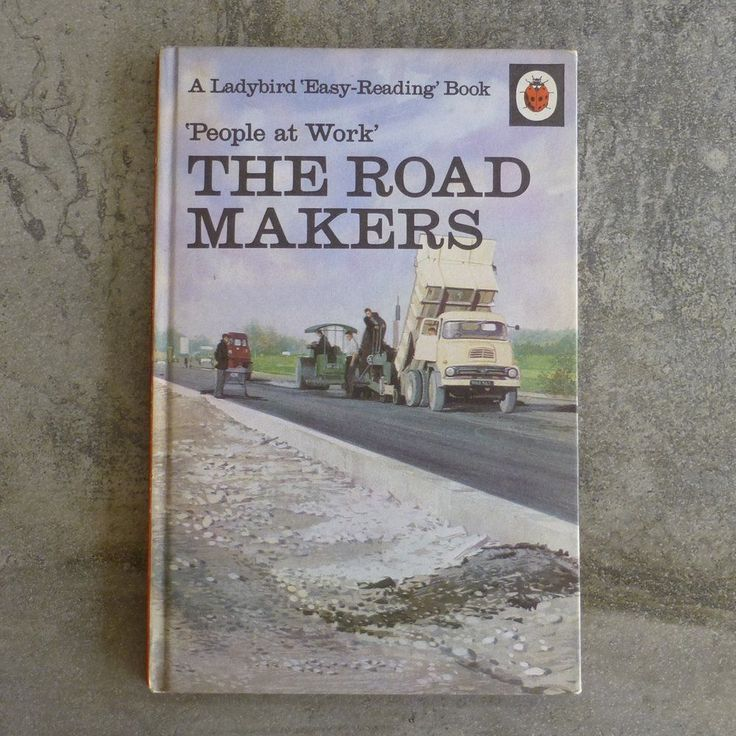 Vintage Ladybird Book  People at Work' The Road Makers  Series 606B no.12 The Ladybird Easy Reading Book by I & J Havenhand Illustrated by John Berry Printed 1967 England