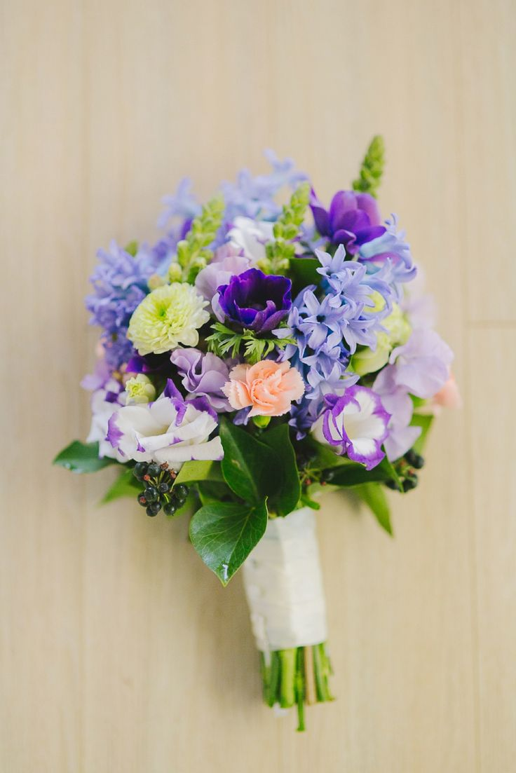 Purple Bouquet - Shot from the Heart Photography