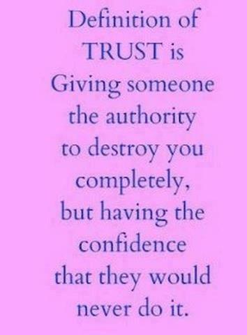 KJV Dictionary Definition: trust