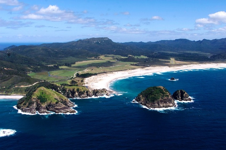 Kaitoke Beach on Great Barrier Island, New Zealand
