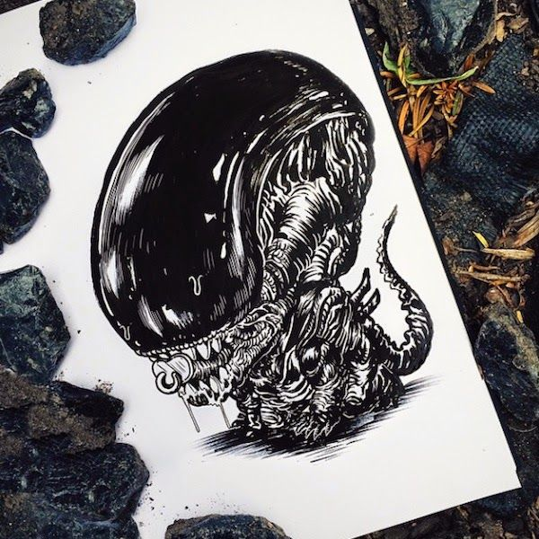 Baby Terrors by Alex Solis | Inspirations Area