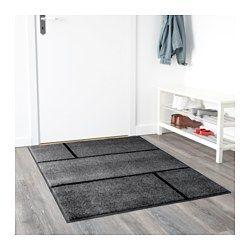 IKEA - KÖGE, Dørmatte, 102x152 cm, , Denne dørmatta er perfekt til utendørs bruk, siden den er laget for å motstå regn, sol, snø og smuss.